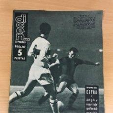 Coleccionismo deportivo: REVISTA DICEN AÑO VIII Nº 365 - 28 NOVIEMBRE 1959 - CF BARCELONA 5 AC MILAN 1 - FCB. Lote 222119185