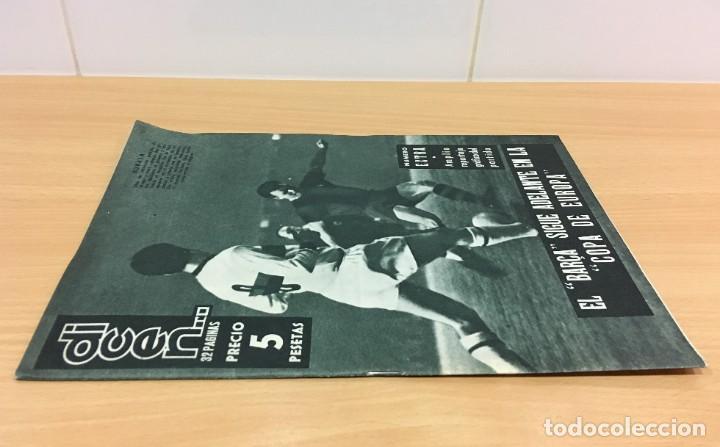 Coleccionismo deportivo: REVISTA DICEN AÑO VIII Nº 365 - 28 NOVIEMBRE 1959 - CF BARCELONA 5 AC MILAN 1 - FCB - Foto 2 - 222119185