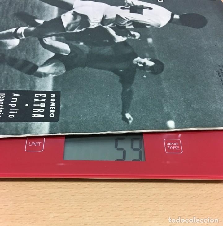 Coleccionismo deportivo: REVISTA DICEN AÑO VIII Nº 365 - 28 NOVIEMBRE 1959 - CF BARCELONA 5 AC MILAN 1 - FCB - Foto 5 - 222119185