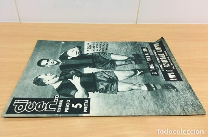 Coleccionismo deportivo: REVISTA DICEN AÑO VIII Nº 356 - 26 SEPTIEMBRE 1959 - SUÁREZ Y KUBALA VENCEN AL CDNA - Foto 2 - 222120312