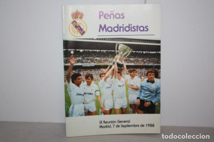 REVISTA SOCIO DEL MADRID 1988 (Coleccionismo Deportivo - Revistas y Periódicos - otros Fútbol)