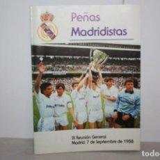 Coleccionismo deportivo: REVISTA SOCIO DEL MADRID 1988. Lote 222218473