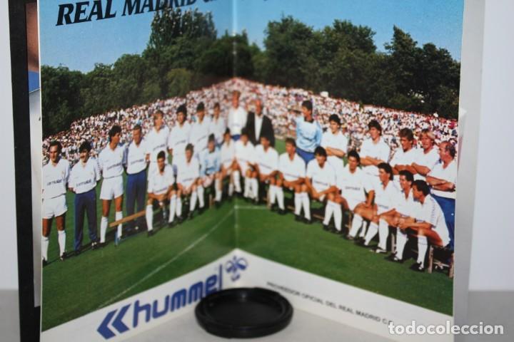 Coleccionismo deportivo: Revista socio del Madrid 1988 - Foto 2 - 222218473