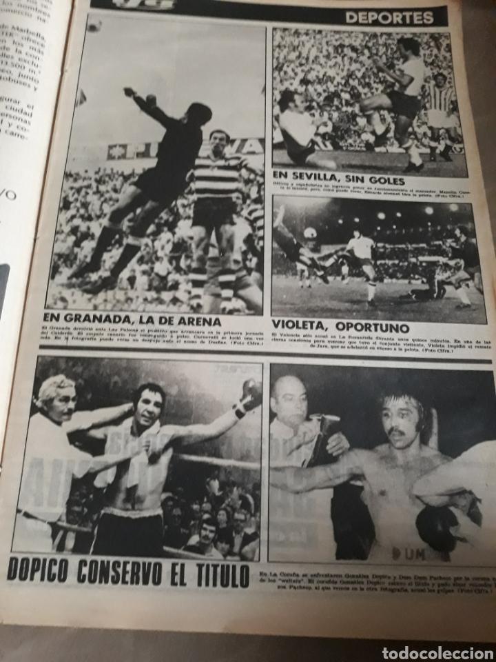 Coleccionismo deportivo: YA DEPORTES . IRIBAR GOLEADO EN SAN MAMES. ROBERTO MARTÍNEZ. 16 DE SEPTIEMBRE DE 1974 ..44 PAGINAS. - Foto 2 - 222239728