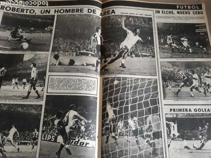Coleccionismo deportivo: YA DEPORTES . IRIBAR GOLEADO EN SAN MAMES. ROBERTO MARTÍNEZ. 16 DE SEPTIEMBRE DE 1974 ..44 PAGINAS. - Foto 3 - 222239728