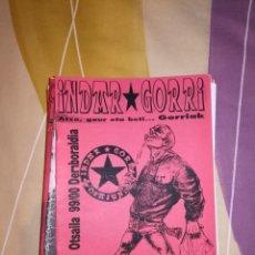 Collezionismo sportivo: LOTE DE FANZINES DE INDAR GORRI - OSASUNA. Lote 222494638