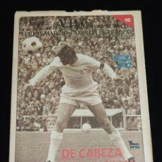 Coleccionismo deportivo: EL REAL MADRID,CAMPEON DE EUROPA,PERIODICO ABC, N° 16. DE CABEZA A SU SEPTIMA FINAL.. Lote 222571936