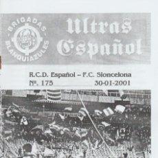 Coleccionismo deportivo: FANZINE BRIGADAS BLANQUIAZULES 175 ESPAÑOL ESPANYOL ULTRAS HOOLIGANS. Lote 222594190