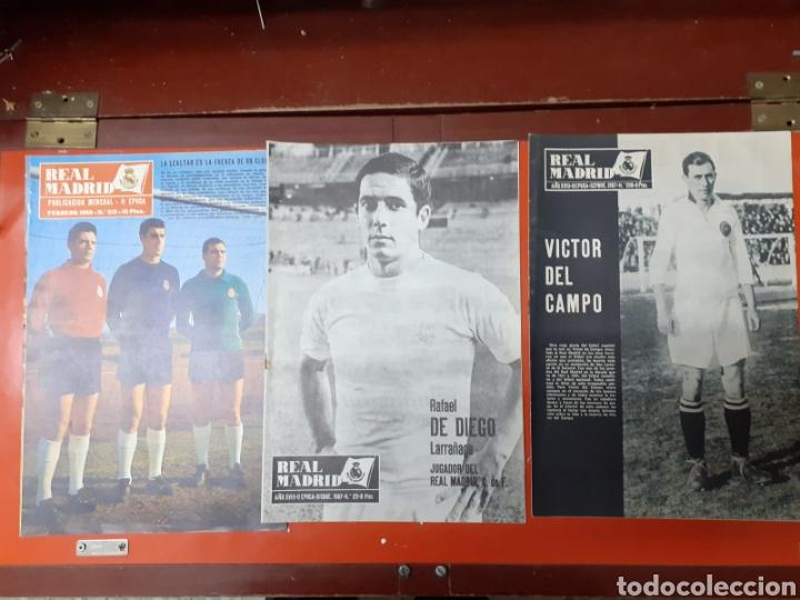 Coleccionismo deportivo: Lote antiguas revistas oficiales Real Madrid - Foto 2 - 222603503