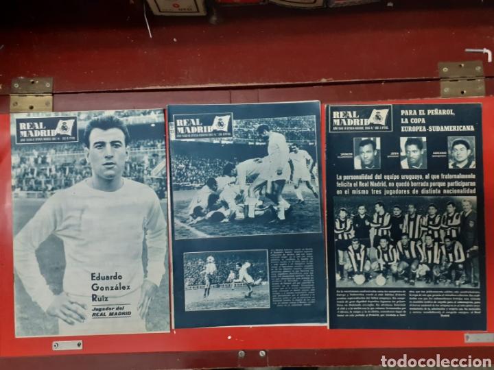LOTE ANTIGUAS REVISTAS OFICIALES REAL MADRID (Coleccionismo Deportivo - Revistas y Periódicos - otros Fútbol)