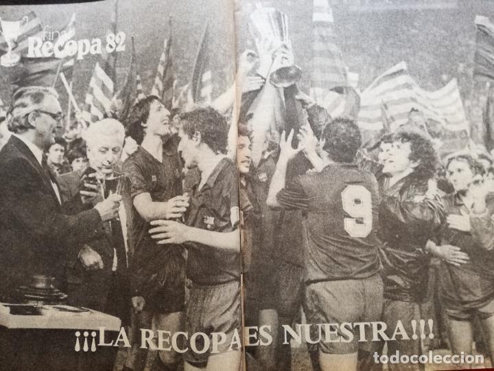 Coleccionismo deportivo: RB REVISTA BARCELONISTA BARÇA Nº 31 1982 879 FC BARCELONA ESPECIAL CAMPEON RECOPA DE EUROPA 81/82 - Foto 3 - 222621975