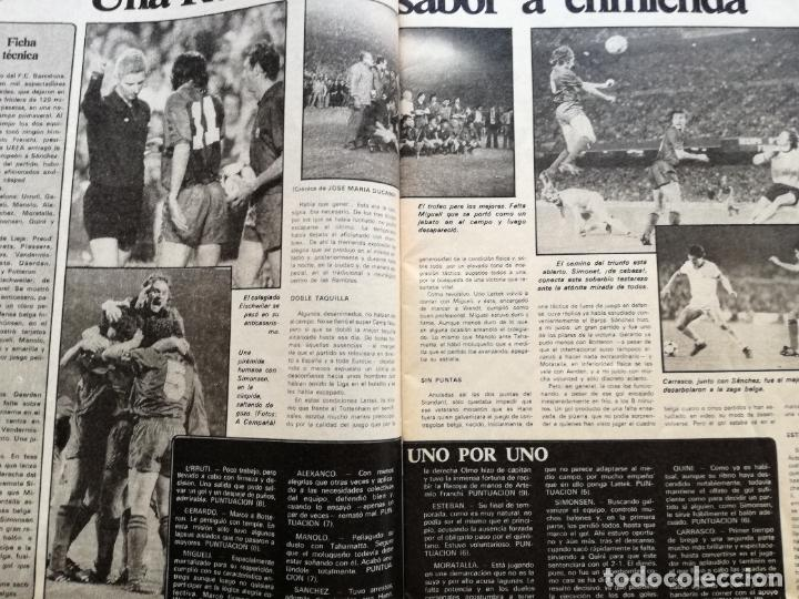 Coleccionismo deportivo: RB REVISTA BARCELONISTA BARÇA Nº 31 1982 879 FC BARCELONA ESPECIAL CAMPEON RECOPA DE EUROPA 81/82 - Foto 4 - 222621975