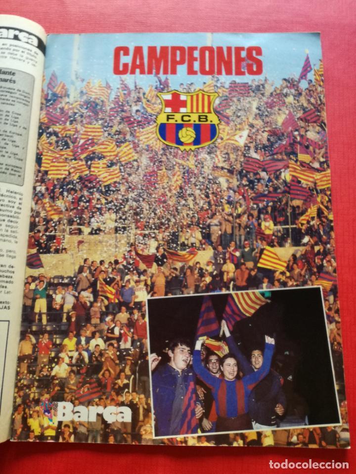 Coleccionismo deportivo: RB REVISTA BARCELONISTA BARÇA Nº 31 1982 879 FC BARCELONA ESPECIAL CAMPEON RECOPA DE EUROPA 81/82 - Foto 7 - 222621975