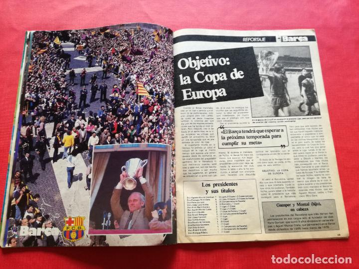 Coleccionismo deportivo: RB REVISTA BARCELONISTA BARÇA Nº 31 1982 879 FC BARCELONA ESPECIAL CAMPEON RECOPA DE EUROPA 81/82 - Foto 11 - 222621975