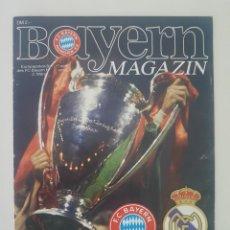 Coleccionismo deportivo: PROGRAMA OFICIAL COPA EURO (CHAMPIONS LEAGUE) 1988 · FC BAYERN MÜNCHEN - REAL MADRID 02.03.1988. Lote 222650883