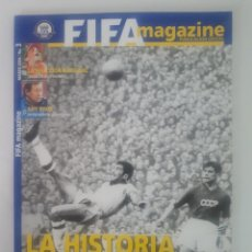 Coleccionismo deportivo: REVISTA OFICIAL FIFA MAGAZINE · 100 AÑOS FIFA · Nº 3 MARZO 2004. Lote 222654903
