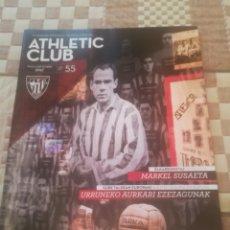 Coleccionismo deportivo: REVISTA OFICIAL DEL ATHLETIC CLUB DE BILBAO Nº 55. SEPTIEMBRE 2017.MUSEO ATHLETIC.MARKEL SUSAETA.... Lote 222843182