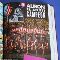 Coleccionismo deportivo: TOMO ATLETICO DE MADRID CAMPEON COPA 1971-1972 AÑO COMPLETO 12 REVISTA OFICIAL ATLETI 71 72. Lote 264977169