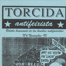 Coleccionismo deportivo: FANZINE TORCIDA ANTIFEIXISTA 6 NOVIEMBRE 1995 ULTRAS HOOLIGANS. Lote 245881250