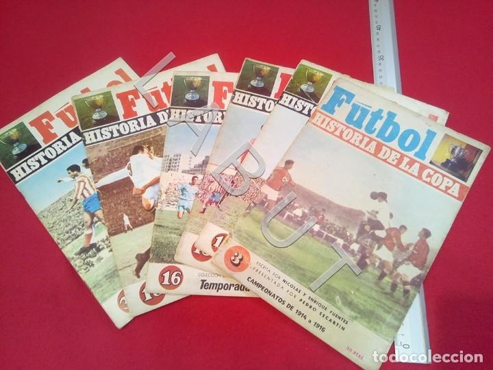 Coleccionismo deportivo: FUTBOL HISTORIA DE LA LIGA FASCICULOS LOTE CM7 - Foto 2 - 223365563
