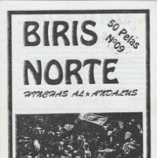 Colecionismo desportivo: FANZINE BIRIS NORTE HINCHAS AL ANDALUS 9 SEVILLA ULTRAS HOOLIGANS. Lote 223494148
