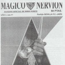Colecionismo desportivo: FANZINE BIRIS NORTE SEVILLA ULTRAS HOOLIGANS. Lote 223608888
