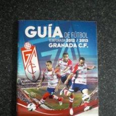 Coleccionismo deportivo: GUÍA DE FÚTBOL GRANADA CF 2012/13 12/13 EL IDEAL. Lote 223618188