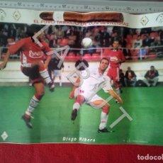 Coleccionismo deportivo: POSTER DIEGO RIBERA REVISTA NUEVA ERA 17 SEVILLA F C CM7. Lote 223818725