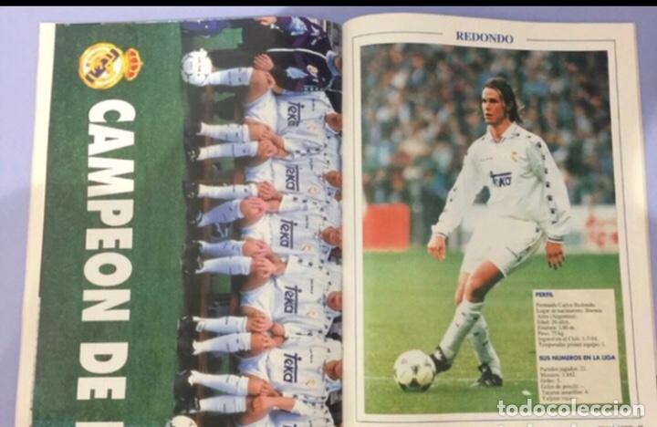 Coleccionismo deportivo: revista real madrid, edicion especial 1995. con poster central - Foto 2 - 223983807