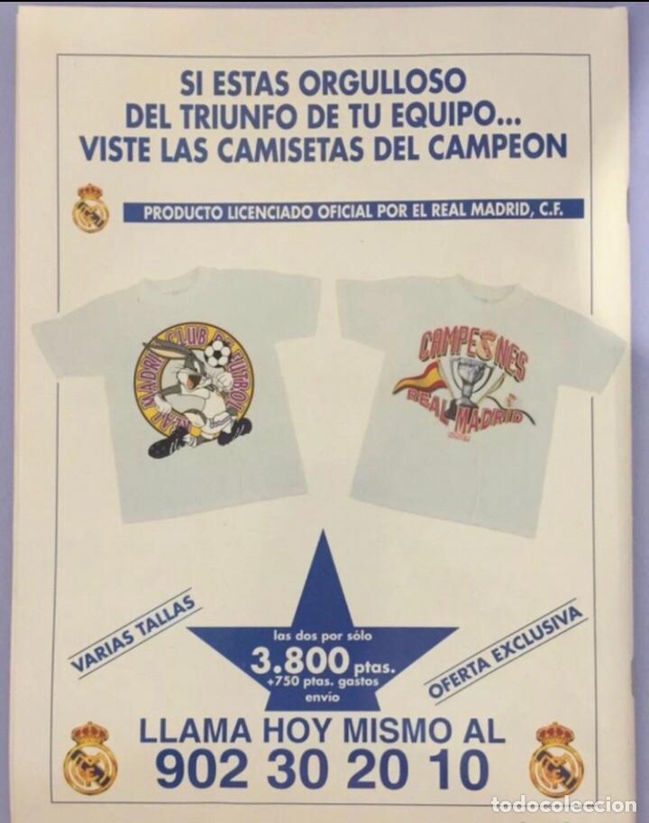 Coleccionismo deportivo: revista real madrid, edicion especial 1995. con poster central - Foto 3 - 223983807