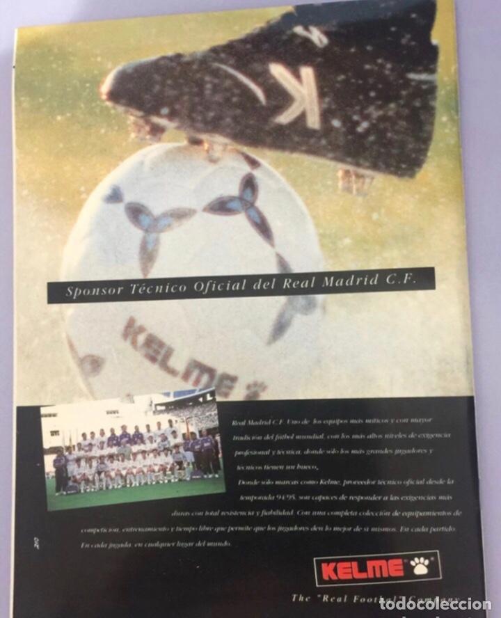 Coleccionismo deportivo: Revista Real Madrid N65. 1995, con póster de Quique Sánchez flores - Foto 3 - 223984906
