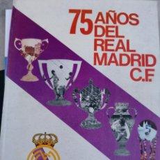 Coleccionismo deportivo: 75 AÑOS DEL REAL MADRID. Lote 224198835