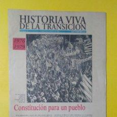 Coleccionismo deportivo: REVISTA HISTORIA VIVA DE LA TRANSICIÓN, LAS PROVINCIAS NUMERO 3, 21 NOVIEMBRE 1995. Lote 224313342