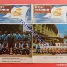 Collectionnisme sportif: BOLETIN REVISTA OFICIAL REAL MADRID 1965 Nº 180 CAMPEON LIGA FUTBOL 64/65 COPA DE EUROPA BALONCESTO. Lote 225233096
