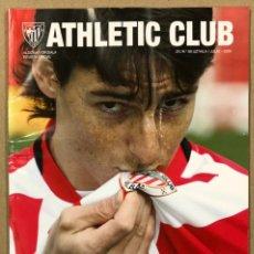 Coleccionismo deportivo: ATHLETIC CLUB N° 66 (2020). REVISTA OFICIAL. ADURIZ, LEÓN DE LEYENDA. ESPECIAL ARITZ ADURIZ. Lote 225769035