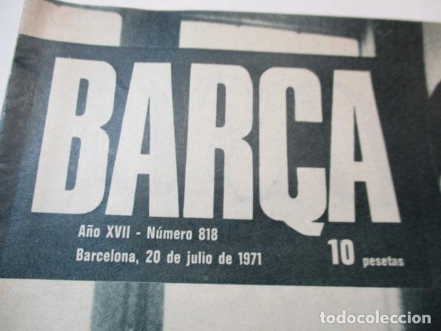 Coleccionismo deportivo: BARÇA Nº:818 (20-7-71)-RINUS MICHELS NUEVO ENTRENADOR DEL BARÇA - Foto 2 - 226603890