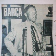 Coleccionismo deportivo: BARÇA Nº:818 (20-7-71)-RINUS MICHELS NUEVO ENTRENADOR DEL BARÇA. Lote 226603890