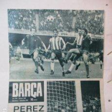 Coleccionismo deportivo: BARÇA Nº 838 DICIEMBRE 1971 - GOL DE PEREZ. Lote 226612815