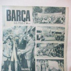 Coleccionismo deportivo: BARÇA Nº 836 NOVIEMBRE 1971 - VALENCIA 1 - BARCELONA 0. Lote 226613880