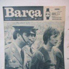 Coleccionismo deportivo: REVISTA BARÇA NUM 1004 11 FEBRERO 1975. CRUYFF. Lote 226703605
