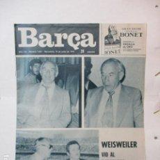 Coleccionismo deportivo: BARÇA Nº 1021 JUNIO 1975 - BARCELONA 1 - SAN ANDRES 0. Lote 226703772