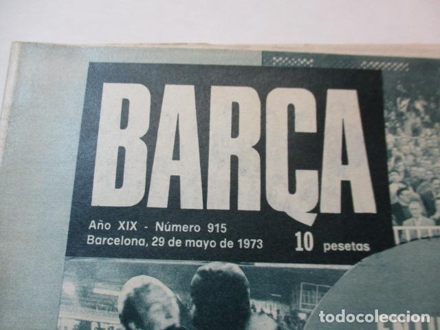Coleccionismo deportivo: REVISTA BARÇA - Nº 915 - MAYO 1973 - Foto 2 - 226705280