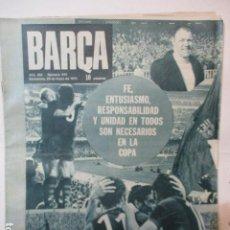 Coleccionismo deportivo: REVISTA BARÇA - Nº 915 - MAYO 1973. Lote 226705280
