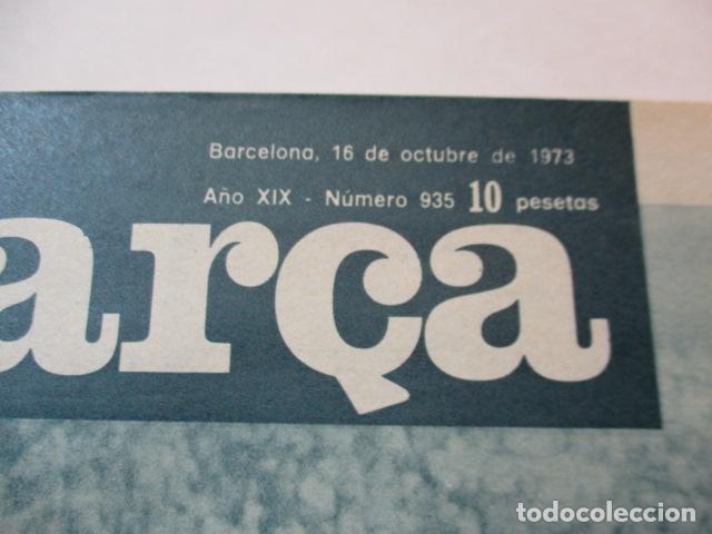 Coleccionismo deportivo: BARÇA PERIODICO Nº 935 OCTUBRE AÑO 1973 - VICTORIA EN CASTALIA - Foto 2 - 226710025