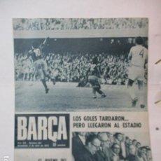 Coleccionismo deportivo: REVISTA BARÇA Nº 907, 3-4-1973. HUELVA 0 - BARÇA 0(COPA GENERALÍSIMO), BARÇA 2 - CELTA 0. Lote 226710205