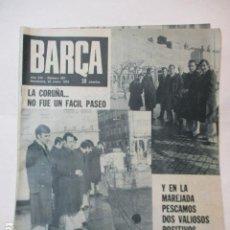 Coleccionismo deportivo: BARÇA PERIODICO Nº 897 ENERO AÑO 1973 - DEPORTIVO 0 - BARCELONA 1. Lote 226710445