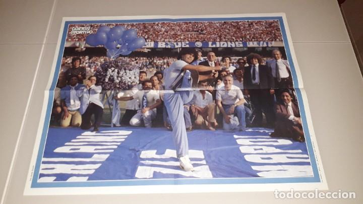 Coleccionismo deportivo: Revista guerin maradona fc Barcelona sevilla napoles Argentina boca juniors mexico 86 - Foto 3 - 227062225