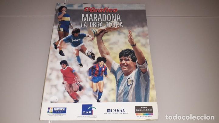 COLECCION EL GRAFICO MARADONA FC BARCELONA SEVILLA NAPOLES ARGENTINA BOCA JUNIORS MEXICO 86 (Coleccionismo Deportivo - Revistas y Periódicos - otros Fútbol)