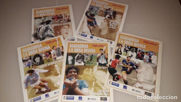 Coleccionismo deportivo: Coleccion el grafico maradona fc Barcelona sevilla napoles Argentina boca juniors mexico 86 - Foto 2 - 227064215