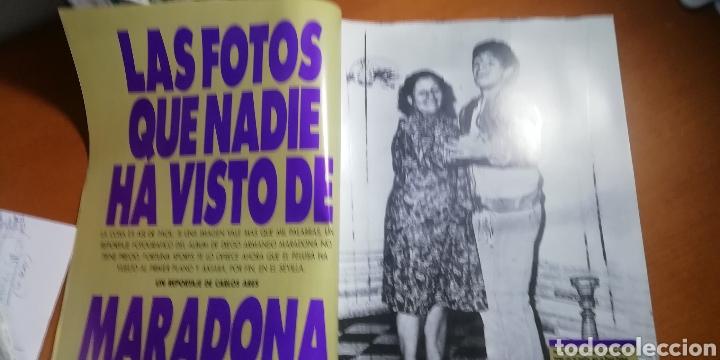 Coleccionismo deportivo: DIEGO MARADONA - album FOTOS NUNCA VISTAS. OJO COLECCIONISTAS. - Foto 3 - 227064726